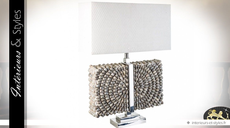 Bois D'acacia Styles Lampe Design Noire 90 En CmIntérieursamp; rdBhQCotsx
