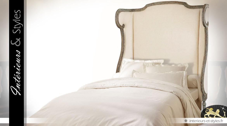 Grande tête de lit de style classique (pour lit en 150)