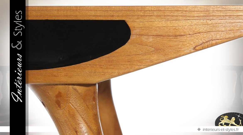 Petite console de style scandinave en bois de mindi