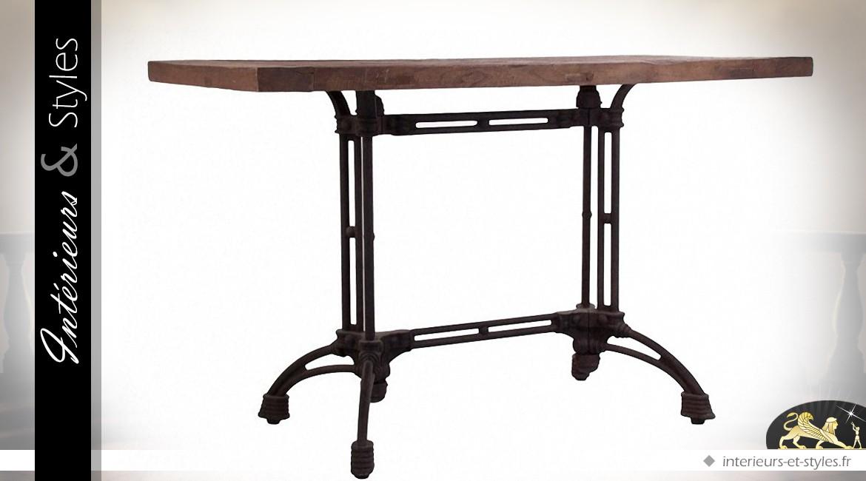 table bistrot rectangulaire spartakiev. Black Bedroom Furniture Sets. Home Design Ideas