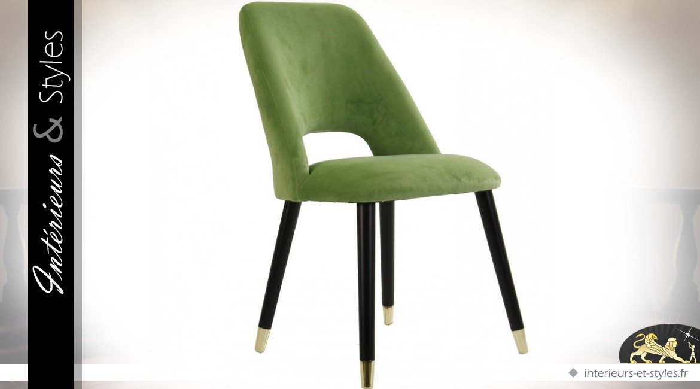 chaise marron habillage tissu avec dossier capitonn int rieurs styles. Black Bedroom Furniture Sets. Home Design Ideas