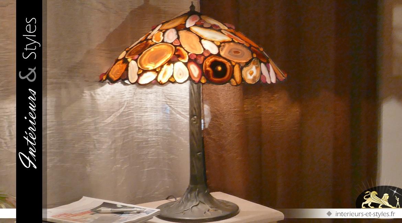 Lampe de prestige : la lampe aux Agates
