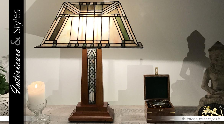 Lampe Tiffany : la mer de sable