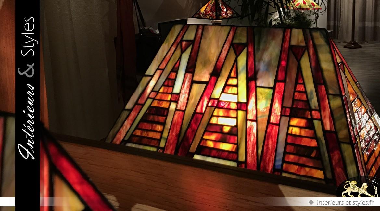 Lampe Tiffany : la Cité interdite