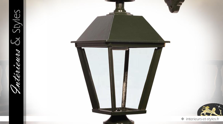 Lanterne murale Noir//argent/é moule en aluminium ext/érieur en fonte de cloison par Happy Homewares