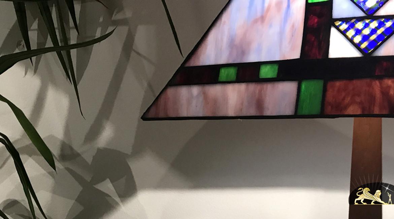 Lampe de salon Tiffany : Soirée d'automne - Ø46cm