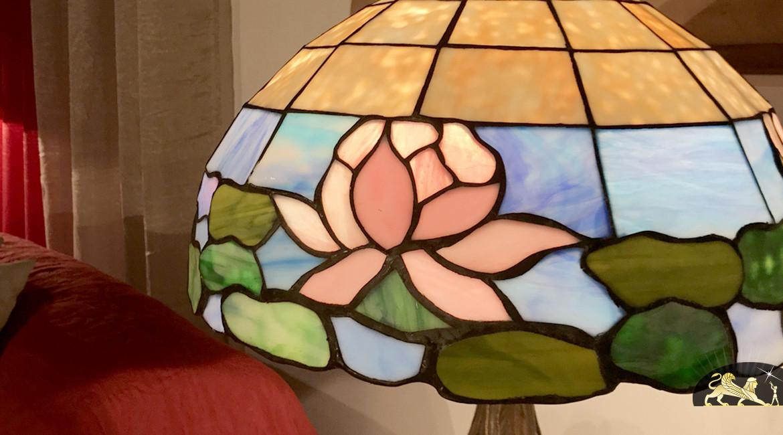 Lampe de salon Tiffany : Yangzi Jiang - Ø42cm