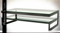 Table basse design Gamma style Bauhaus by Eichholtz 150 x 80 cm