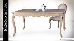 Table de salle manger style louis xv avec rallonge - Salle a manger louis 15 ...
