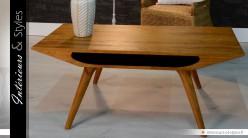 Table basse de style scandinave en mindi