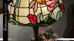 Lampadaire Tiffany Eternelle féminin