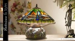 Lampe Tiffany Replica : les libellules