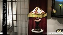 Lampe de style Tiffany : Au temps des chevaliers
