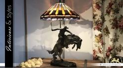 Grande lampe Tiffany : Don Vaquero (88 cm)