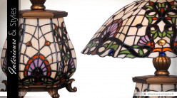 Lampe Art Deco de style Tiffany : Mindanao Ø 46 cm