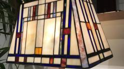 Grande lampe de salon Tiffany : La Majestueuse - Ø52cm