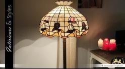 Grand lampadaire Tiffany Tulipe de douceur