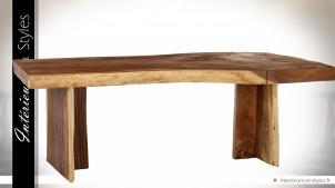grande table salle manger en bois massif style naturel 2 mtres intrieurs styles - Grande Table Salle A Manger 2